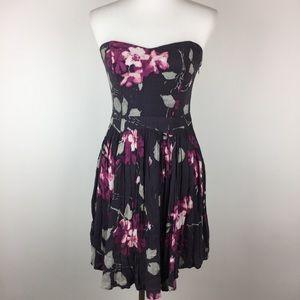 Kimchi Blue Dress Size M Strapless Asymmetrical
